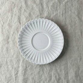 シュシュ・グレース ソーサー 14.5x14.5cm [日本製/美濃焼/洋食器] 生活雑貨 キッチン 食器 皿 小皿 日本 ホワイト ブラック ブルー 器 美濃焼 グレース ソーサー 東海焼 TOKAI-YAKI 東海焼き 現代風アレンジ お皿