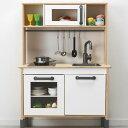 IKEA イケア ドゥクティグ ミニキッチン おままごと ままごと キッチン 高さ 調整 ロールプレイ 台所 バーチ材合板 ホ…