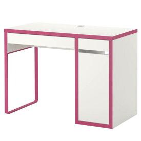 【OPEN記念SALE!!15999円】 IKEA イケア MICKEデスク 子供用 机 デスク おしゃれ 北欧 かわいい ピンク ホワイト 白 勉強机
