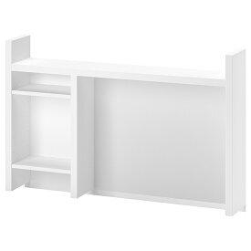 IKEA イケア MICKE ミッケ デスク 上部パーツ 追加ユニット 高, ホワイト105x65 cm