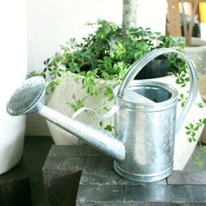 【週末限定クーポン&ポイントアップ!】ブリキ ジョウロ 1.5L 観葉植物 水やり ジョーロ おしゃれ インテリア デザイン