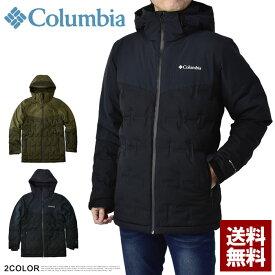 コロンビア Columbia ダウンジャケット メンズ アウター ワイルドカードダウン 防水透湿機能 ブルゾン 正規品 EE0901【C1B】