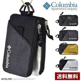 コロンビア Columbia スマートフォンケース 小物入れ 小さいサイフ メンズ レディース PU2091 正規品【Z2L】【パケ2】