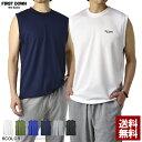 FIRSTDOWN ファーストダウン 吸汗速乾 ノースリーブ Tシャツ メンズ ランクルT ドライ ストレッチ タンクトップ【B2H…