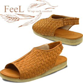 送料無料 FeeL フィール 靴 レディース サンダル 本革 Feel Pai FE-06【沖縄・離島は送料無料対象外】