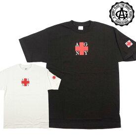 【Acapulco Gold/アカプルコゴールド】半袖Tシャツ/ AGNY SQUARE LOGO TEE