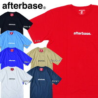 e4e02af6345 PR  afterbase アフターベース ロゴ 半袖 Tシャツ LOGO T-SHIR.