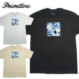 【PRIMITIVE/プリミティブ】半袖Tシャツ カモボックスロゴT/NUEVO CAMO BOX TEE
