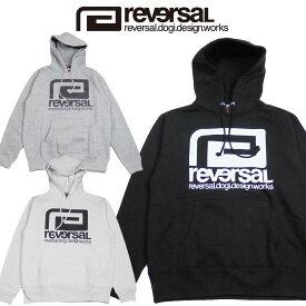 【REVERSAL/リバーサル】BIG MARK SWEAT PARKA/ビックマークロゴパーカー(reg)