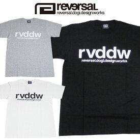 【REVERSAL/リバーサル】rvddw COTTON TEE/reversal rvddwロゴ Tシャツ(reg)