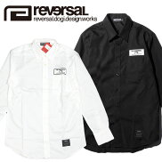 【reversal/リバーサル】長袖シャツボタンシャツ/CANNONBALLPITSHIRTS