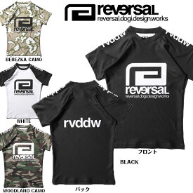 【reversal/リバーサル】ラッシュガード 半袖/rvddw RASH GUARD(regular-active)(reg)