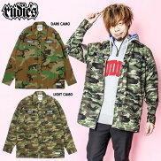 【RUDIE'S/ルーディーズ】シャツジャケットミリタリージャケット長袖/CREWMILITARYSHIRTS/rudies