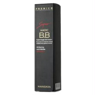 HANSKIN hanskin 超级魔术 BB 霜魔法 BB 霜 50 毫升韩国化妆品/韩国化妆品和韩国 COS BB 霜 BB