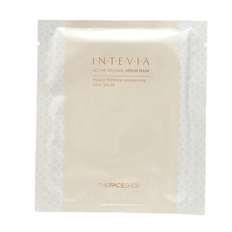INTEVIA active original serum mask インテビア active original Ceram mask Korea cosmetics / Korea cosmetics and Korean COS /BB cream /bb