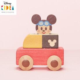 KIDEA PUSH CAR ミッキーマウス キディア 【お取寄せ】【海外NG】