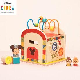 KIDEA BUSY BOX ミッキー&フレンズ キディア 【送料無料 お取寄せ】【海外NG】