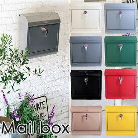 Mail box1 郵便受け(無地タイプ)/ART WORK STUDIO【送料無料】【ポイント10倍】【4/21】【あす楽】