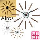 【500円OFFクーポン対象】Atras−clock−/アトラスクロック 壁掛け時計 ART WORK STUDIO【送料無料】【ポイント10倍/一部在庫有】【1/31】