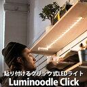 【メール便可】Luminoodle Click ルミヌードルクリック 貼るだけ簡単 電池式 LEDライト(PRES)【在庫有】