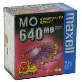 maxell 3.5型 MOディスク 640MB 5枚 アンフォーマット MA-M640 B1P5S