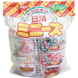 *受発注* 日清食品 ミニーズ[東] 5種 1セット(30食:5食×6パック)