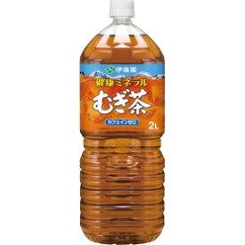 *受発注* 伊藤園 健康ミネラルむぎ茶 2L ペットボトル 1ケース(6本)