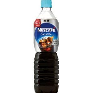 *受発注* ネスレ ネスカフェ エクセラ ボトルコーヒー 無糖 900ml ペットボトル 1ケース(12本)