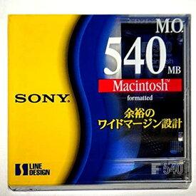 ソニー3.5型MOディスク Macintosh対応フォーマット済 540MB SONY EDM-540CMF