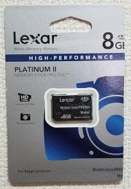 【在庫限り☆返品交換不可】 ◆バルク品◆ Lexar PLATINUM II メモリースティック Pro Duo MARK2 8GB MAGICGATE対応 LMSPD8GBBAS