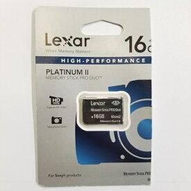 【在庫限り☆返品交換不可】 ◆バルク品◆ Lexar PLATINUM II メモリースティック Pro Duo MARK2 16GB MAGICGATE対応 LMSPD16GBBAS