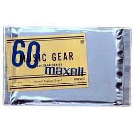【アウトレット品】 マクセル カセットテープ ノーマルポジション 60分 1本 maxell MG1-60