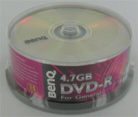 【返品交換不可】BENQ データ用DVD-R 2倍速 25枚_Outlet