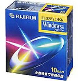 【生産中止商品】富士フイルム3.5型2HD フロッピーディスク Windows用 10枚 MF2HDDVFK10P