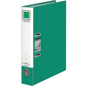 *受発注* コクヨ レバッチファイル A4タテ 緑 とじ厚28mm