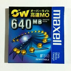 maxell 3.5インチ 640MB OW対応アンフォーマットMOディスク