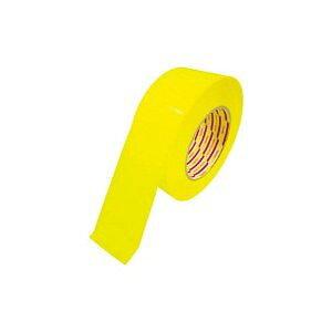 *受発注*ダイヤテックス パイオラン ラインテープ 100mm幅 黄 1巻