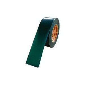 *受発注*ダイヤテックス パイオラン ラインテープ 50mm幅 緑  1巻