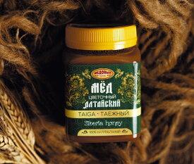 シベリア アルタイ地方産 タイガ ハチミツ 500g