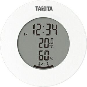 *受発注* タニタ デジタル温湿度計 ホワイト TT-585WH 1個