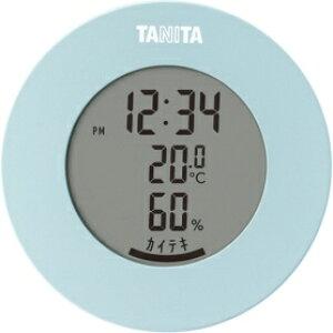 *受発注* タニタ デジタル温湿度計 ライトブルー TT-585BL 1個