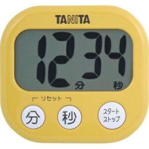 *受発注*タニタ でか見えタイマー マンゴーイエロー TD-384MY 1個