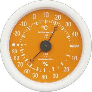 *受発注* タニタ アナログ温湿度計 オレンジ TT-515-OR 1個