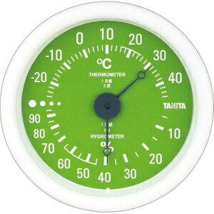*受発注*タニタ アナログ温湿度計 グリーン TT-515-GR 1個