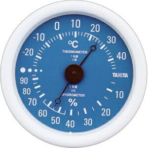 *受発注*タニタ アナログ温湿度計 ブルー TT-515-BL 1個