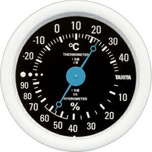 *受発注* タニタ アナログ温湿度計 ブラック TT-515-BK 1個
