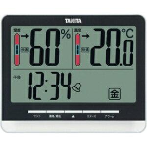*受発注* タニタ 温湿度計 ブラック TT-538BK 1個