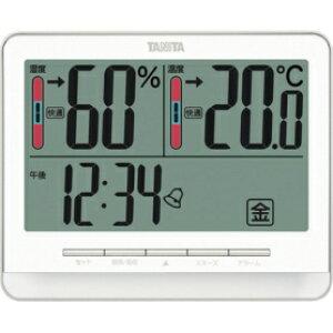 *受発注* タニタ 温湿度計 ホワイト TT-538WH 1個