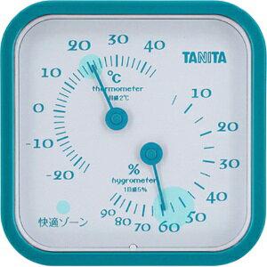 *受発注*タニタ アナログ温湿度計 ブルー TT-557BL 1個