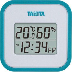 *受発注*タニタ デジタル温湿度計 ブルー TT-558BL 1個